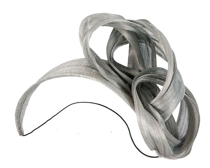 Fascinators Online - Silver retro headband fascinator by Fillies Collection 2