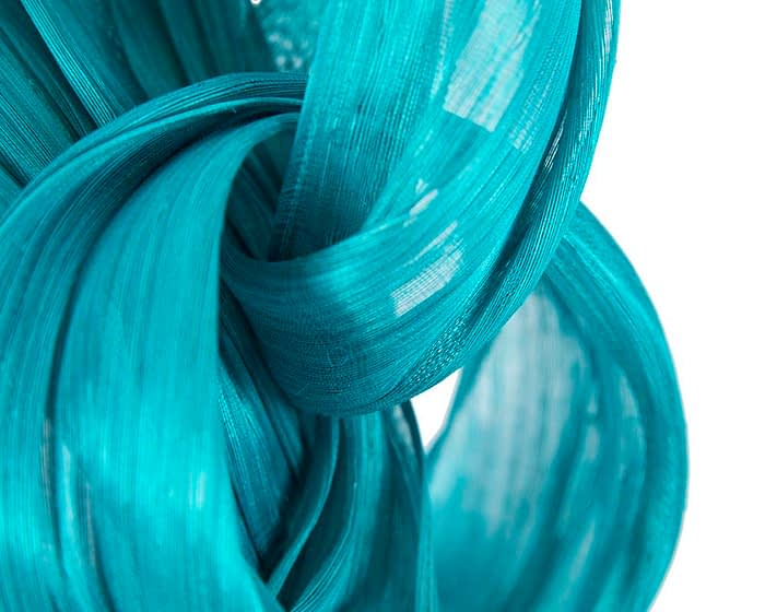 Fascinators Online - Turquoise retro headband fascinator by Fillies Collection 3