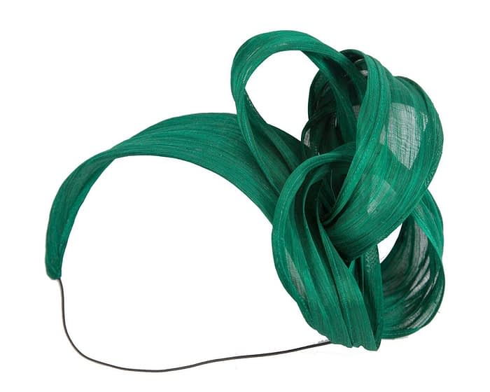 Fascinators Online - Green retro headband fascinator by Fillies Collection 2