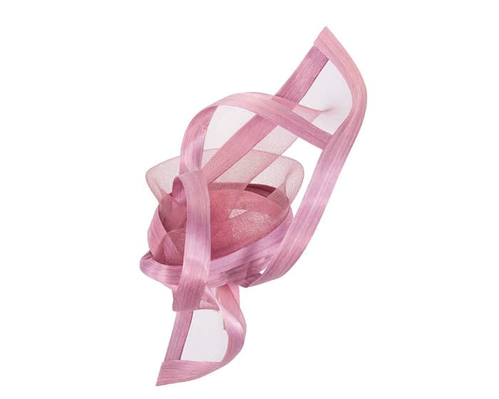 Fascinators Online - Edgy dusty pink fascinator by Fillies Collection 3