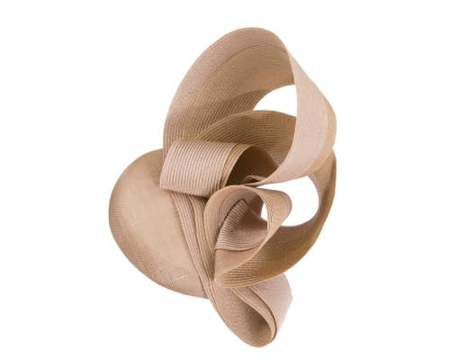Fascinators Online - Nude racing fascinator by Fillies Collection 2