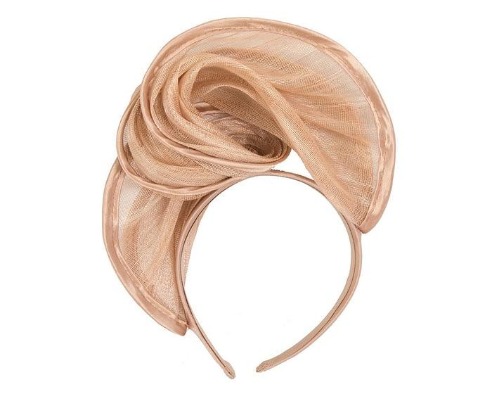 Fascinators Online - Nude headband racing fascinator by Fillies Collection 4