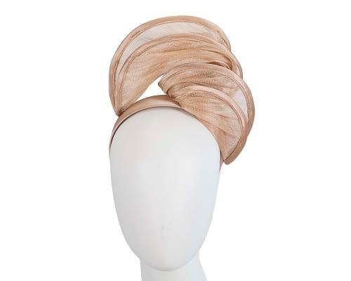 Fascinators Online - Nude headband racing fascinator by Fillies Collection 1
