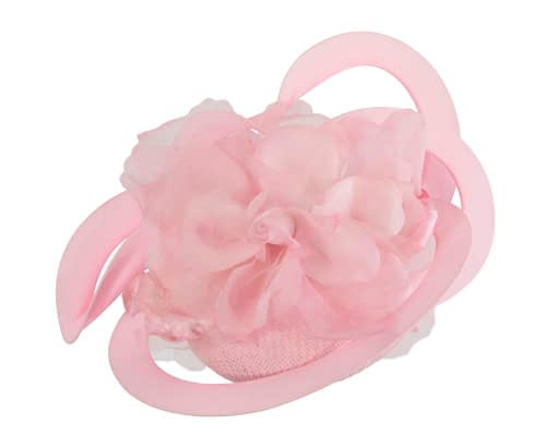 Fascinators Online - Large designers pink fascinator by Fillies Collection 2