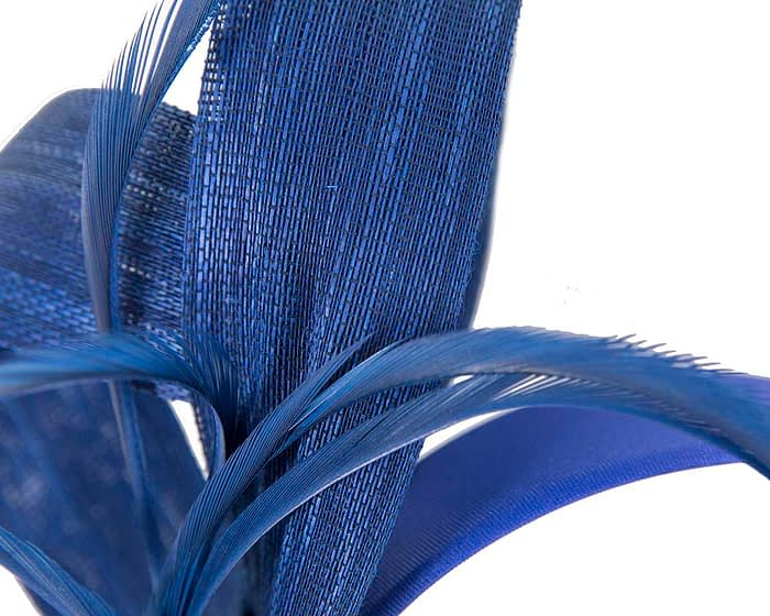 Fascinators Online - Royal blue loops headband fascinator by Fillies Collection 3