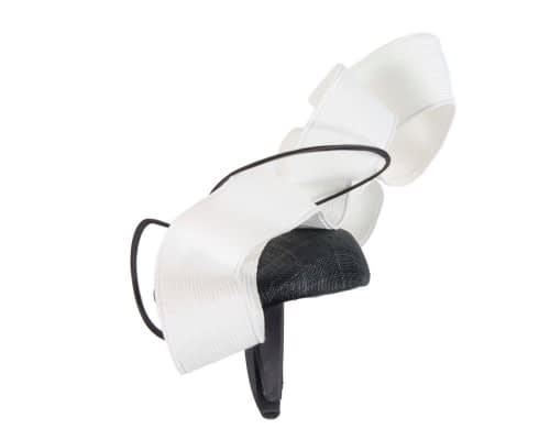 Fascinators Online - Designers black & white racing fascinator by Fillies Collection 6