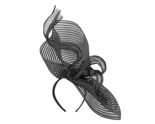 Fascinators Online - Tall black racing fascinator by Fillies Collection 2
