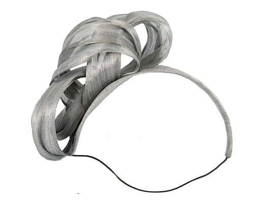 Fascinators Online - Silver retro headband fascinator by Fillies Collection 4