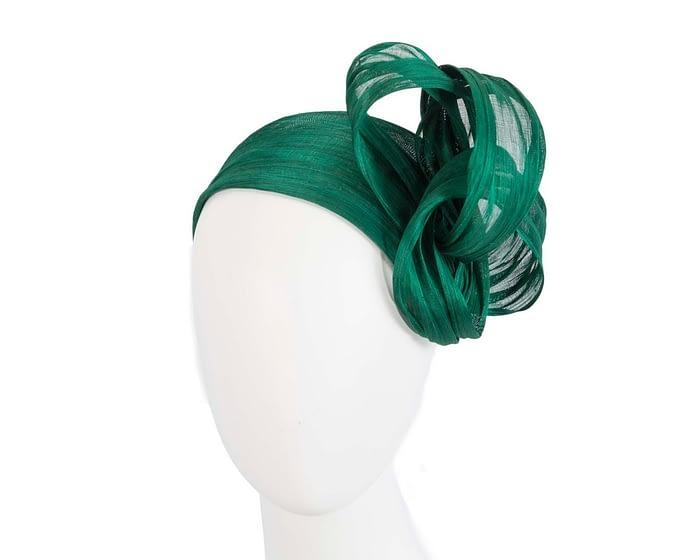 Fascinators Online - Green retro headband fascinator by Fillies Collection 1