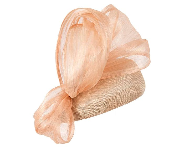 Fascinators Online - Nude pillbox with bow by Fillies Collection 3