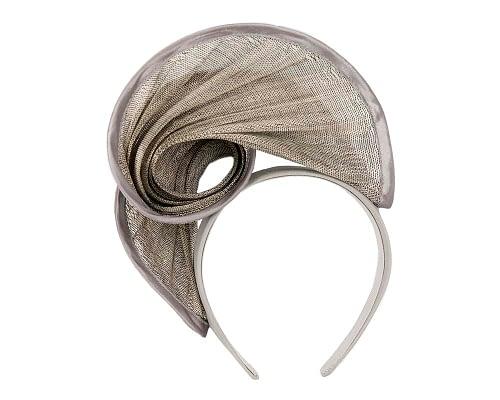 Fascinators Online - Silver headband racing fascinator by Fillies Collection 4