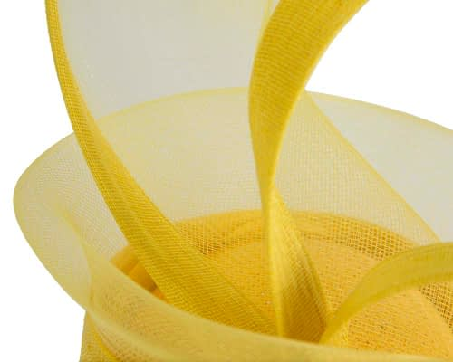 Fascinators Online - Edgy yellow fascinator by Fillies Collection 5