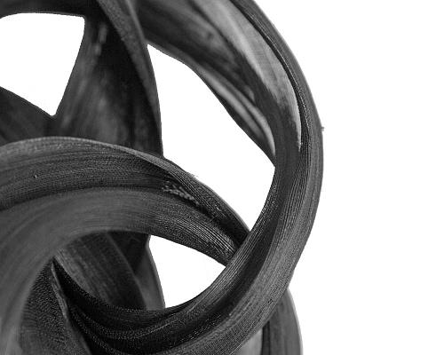 Fascinators Online - Black retro headband fascinator by Fillies Collection 3