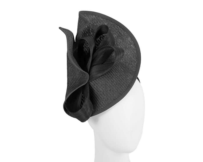 Fascinators Online - Black fascinator with bow by Fillies Collection 1