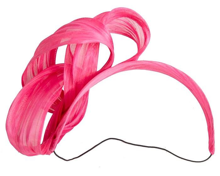 Fascinators Online - Fuchsia retro headband fascinator by Fillies Collection 4