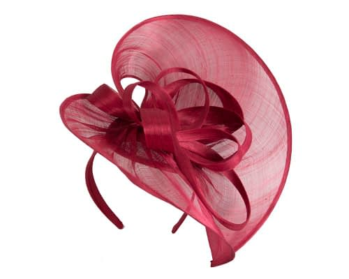 Fascinators Online - Large red heart fascinator by Fillies Collection 2