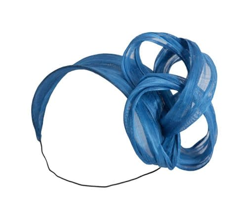 Fascinators Online - Royal blue retro headband fascinator by Fillies Collection 2