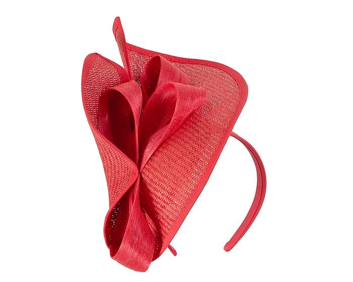 Fascinators Online - Red fascinator with bow by Fillies Collection 2