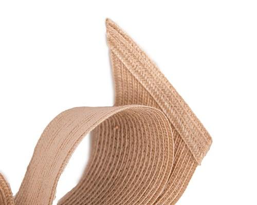 Fascinators Online - Large nude bow fascinator by Max Alexander 3