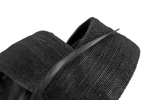 Fascinators Online - Black loops headband fascinator by Fillies Collection 3