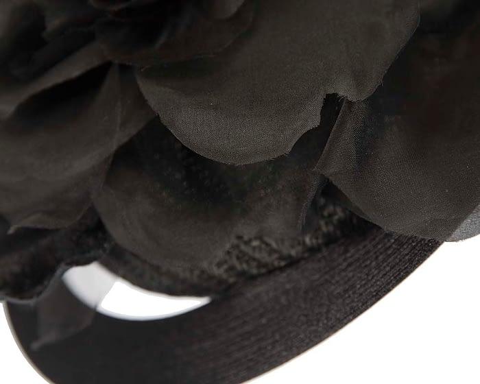 Fascinators Online - Large designers black fascinator by Fillies Collection 5