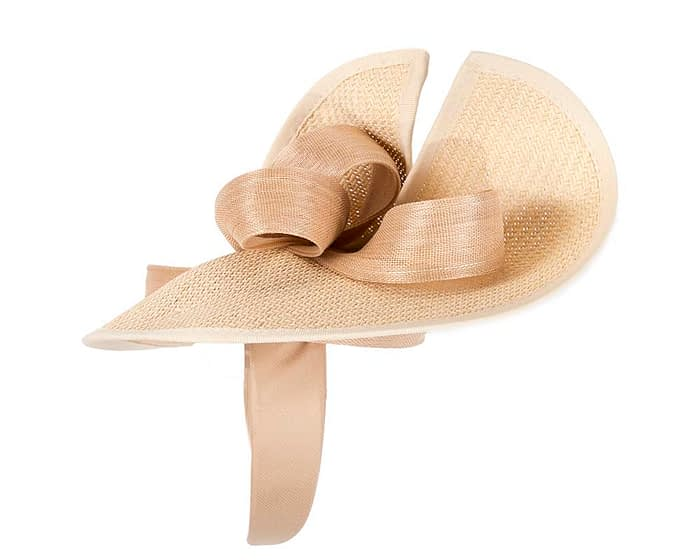 Fascinators Online - Nude fascinator with bow by Fillies Collection 3