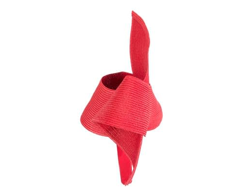 Fascinators Online - Stylish red Australian Made racing fascinator by Max Alexander 3