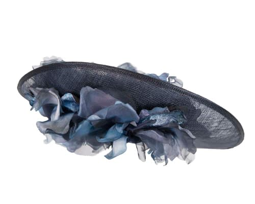 Fascinators Online - Large navy plate racing fascinator by Fillies Collection 6
