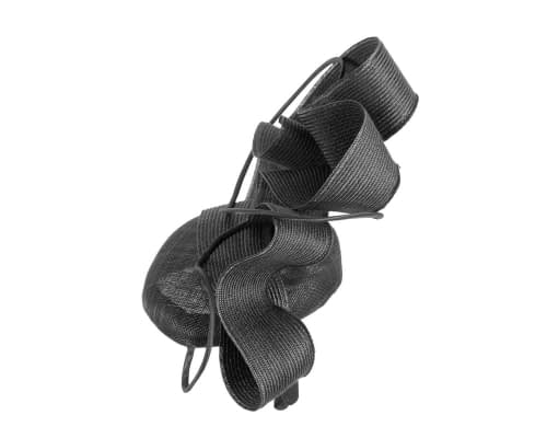 Fascinators Online - Designers black racing fascinator by Fillies Collection 3