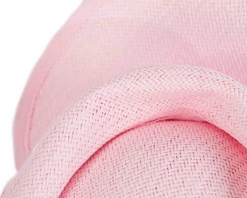 Fascinators Online - Soft pink twisted fascinator by Max Alexander 3