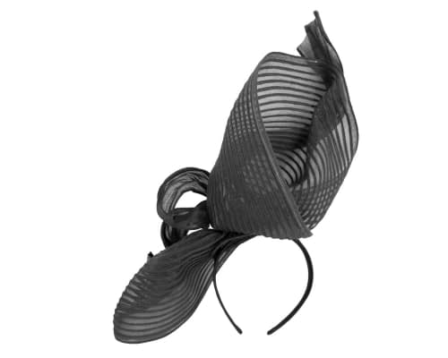 Fascinators Online - Tall black racing fascinator by Fillies Collection 4