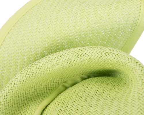 Fascinators Online - Lime twisted fascinator by Max Alexander 3