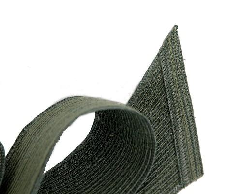 Fascinators Online - Large olive bow fascinator by Max Alexander 3