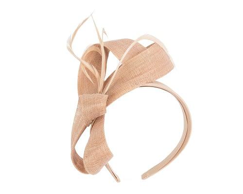 Fascinators Online - Nude loops headband fascinator by Fillies Collection 2