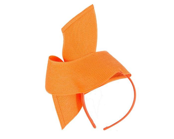 Fascinators Online - Stylish orange Australian Made racing fascinator by Max Alexander 6