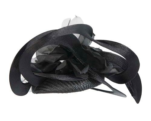 Fascinators Online - Large designers black fascinator by Fillies Collection 6