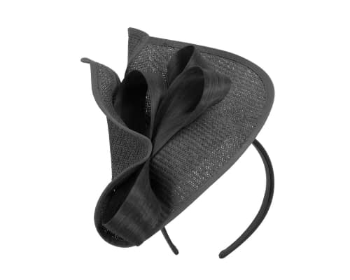 Fascinators Online - Black fascinator with bow by Fillies Collection 2