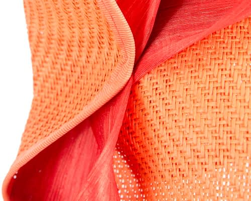 Fascinators Online - Orange fascinator with bow by Fillies Collection 5
