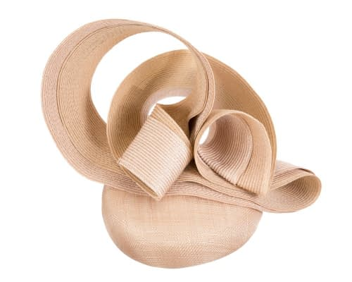 Fascinators Online - Nude racing fascinator by Fillies Collection 7