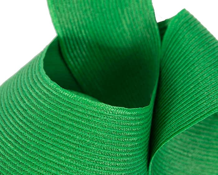 Fascinators Online - Stylish green Australian Made racing fascinator by Max Alexander 3