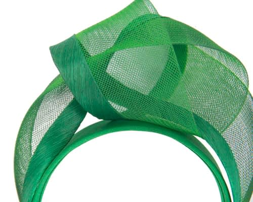 Fascinators Online - Green turban headband by Fillies Collection 3