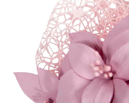 Fascinators Online - Pink designers racing fascinator by Fillies Collection 3
