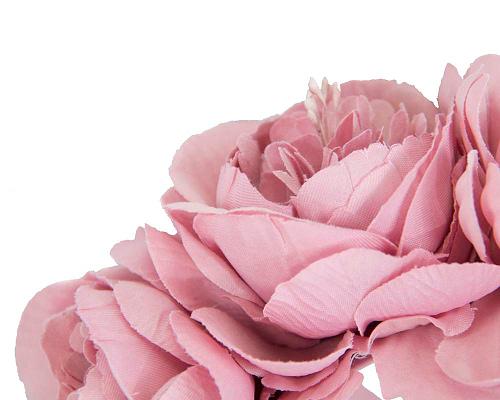 Fascinators Online - Dusty pink flower headband fascinator by Max Alexander 3
