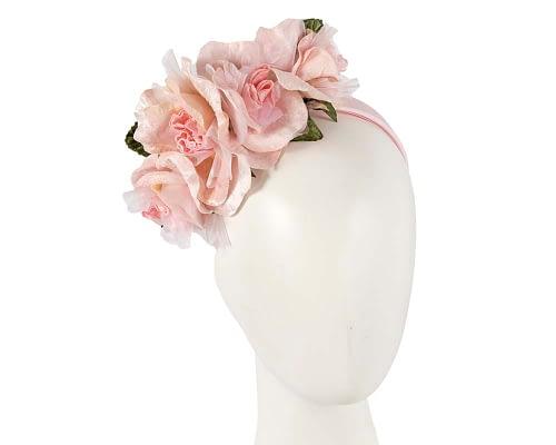 Fascinators Online - Multi-color blush flower headband by Max Alexander 31
