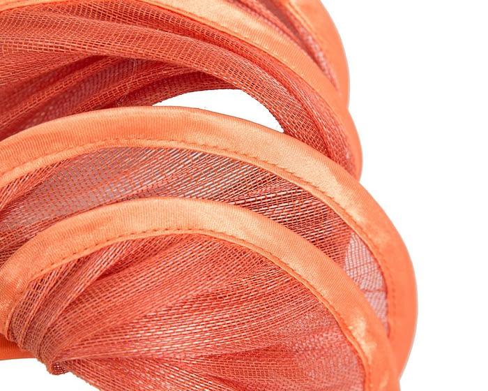 Fascinators Online - Orange headband racing fascinator by Fillies Collection 3