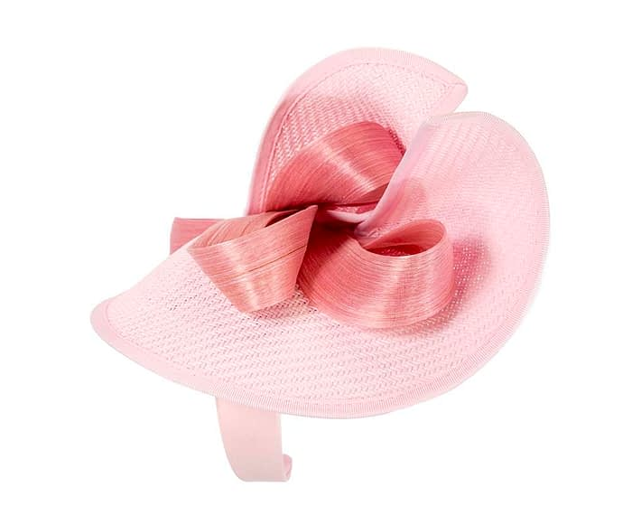 Fascinators Online - Pink fascinator with bow by Fillies Collection 3