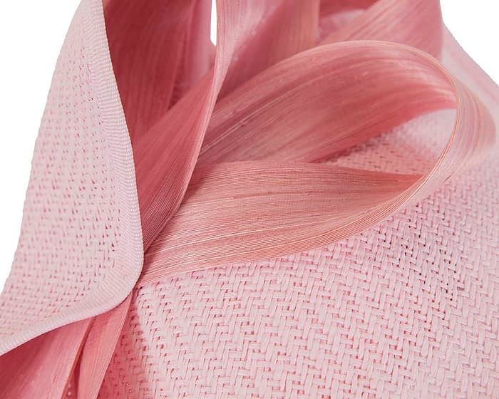 Fascinators Online - Pink fascinator with bow by Fillies Collection 5