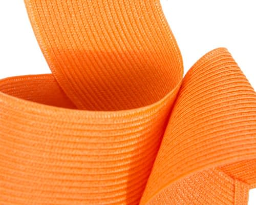 Fascinators Online - Stylish orange Australian Made racing fascinator by Max Alexander 5