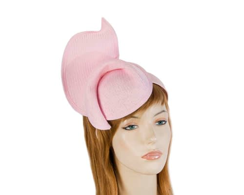 Fascinators Online - Soft pink twisted fascinator by Max Alexander 6