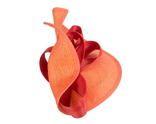 Fascinators Online - Orange fascinator with bow by Fillies Collection 4